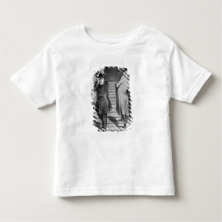 A tenant who owes three terms toddler t-shirt