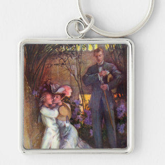 A Tender Moment Key Chain