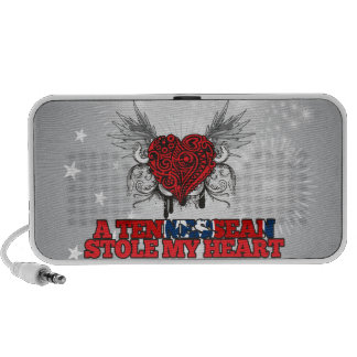 A Tennessean Stole my Heart iPhone Speakers