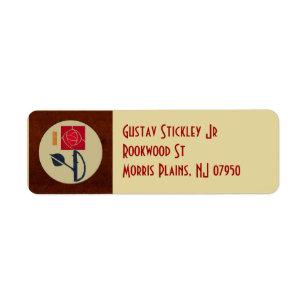 Arts Crafts Label Pensandpieces