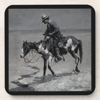 A Texas Pony Remington Fine Art Drink Coaster