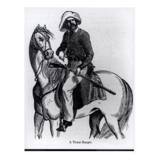 A Texas Ranger Postcard