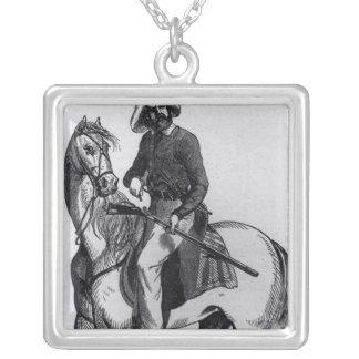 A Texas Ranger Silver Plated Necklace