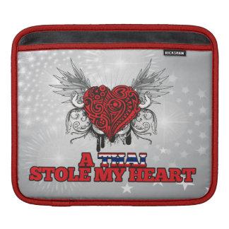 A Thai Stole my Heart Sleeve For iPads