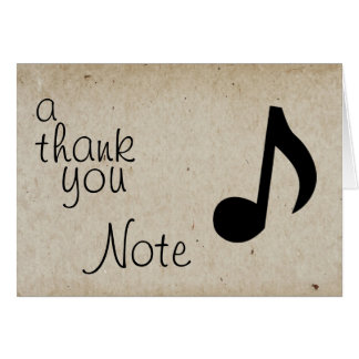 A Thank You Note Stationery Note Card