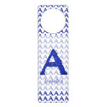 A- The Falck Alphabet (Blue) Door Hangers