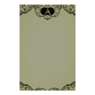 A- The Falck Alphabet (Golden) Stationery