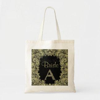 A- The Falck Alphabet (Golden) (Wedding) Tote Bag