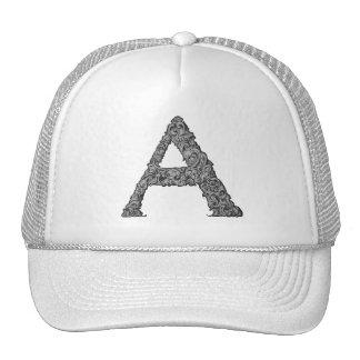 A- The Falck Alphabet (Silvery) Trucker Hat