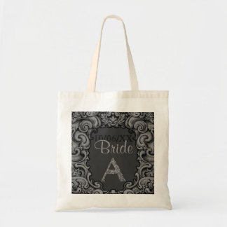 A- The Falck Alphabet (Silvery) (Wedding) Tote Bag