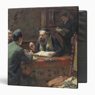 A Theological Debate, 1888 3 Ring Binder