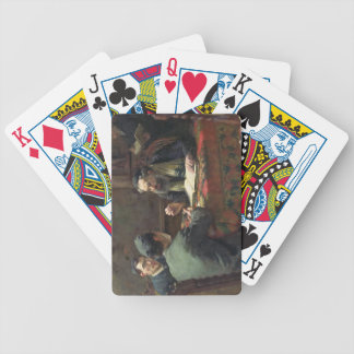 A Theological Debate, 1888 Bicycle Playing Cards