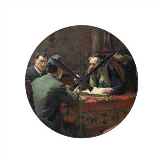 A Theological Debate, 1888 Wall Clock