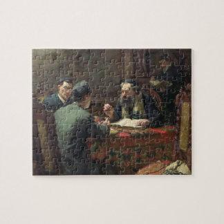A Theological Debate, 1888 Jigsaw Puzzle