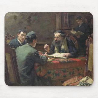 A Theological Debate, 1888 Mouse Pad