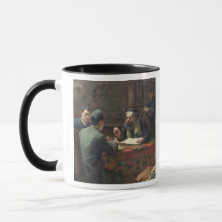 A Theological Debate, 1888 Mug