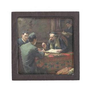 A Theological Debate, 1888 Premium Jewelry Box