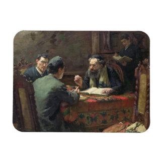 A Theological Debate, 1888 Rectangular Photo Magnet