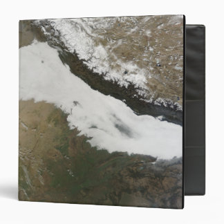 A thick bank of low clouds vinyl binders