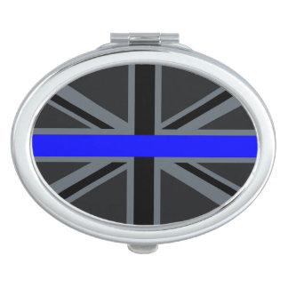 A Thin Blue Line Union Jack Vanity Mirror