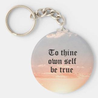 A Thine posea al uno mismo