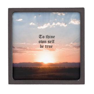 A Thine posea al uno mismo Caja De Regalo De Calidad