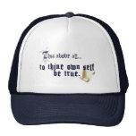 A Thine posea al uno mismo sea gorra verdadero