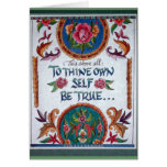 A Thine posea al uno mismo sea verdad por Barbara  Tarjeton