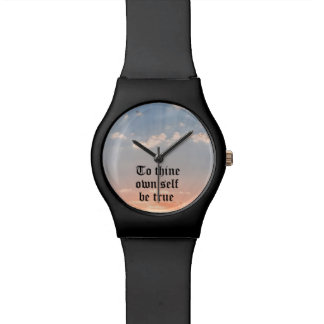 A Thine posea al uno mismo sea verdad Reloj