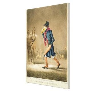 A Thoroughbred November & London Particular, engra Canvas Print