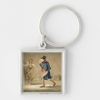A Thoroughbred November & London Particular, engra Keychains