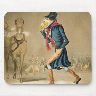 A Thoroughbred November & London Particular, engra Mouse Pad