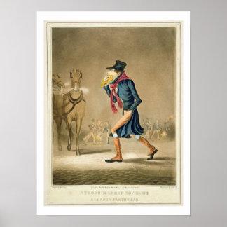 A Thoroughbred November & London Particular, engra Poster