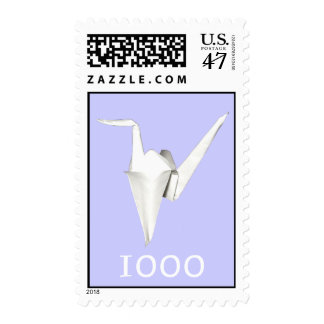 A Thousand Cranes Stamp