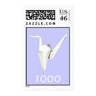 A Thousand Cranes Stamp