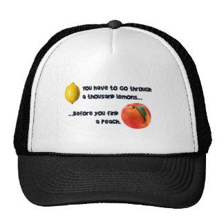 A Thousand Lemons to a Peach Trucker Hat