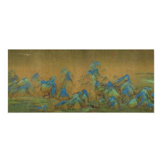 A Thousand Li of River and Mountains Wang Ximeng Custom Invitations
