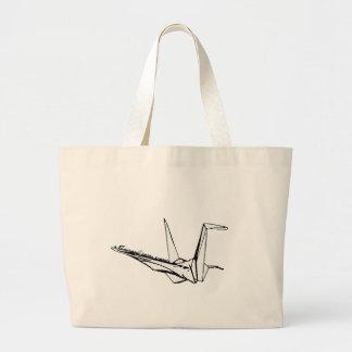 a thousand paper cranes canvas bags