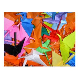 A Thousand Paper Cranes - Senbazuru - Get Well Post Cards