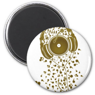 A_Thousand_Sounds 2 Inch Round Magnet