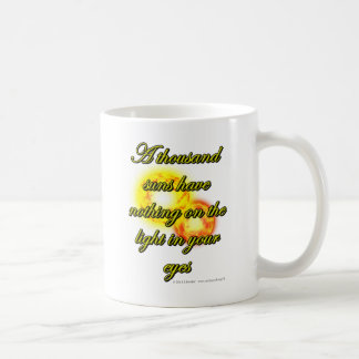 A thousand suns have nothing on the light in... coffee mug