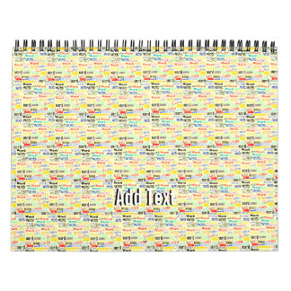 A Thousand Words - 1000 Words Background Calendars