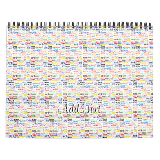 A Thousand Words - 1000 Words Background Wall Calendars