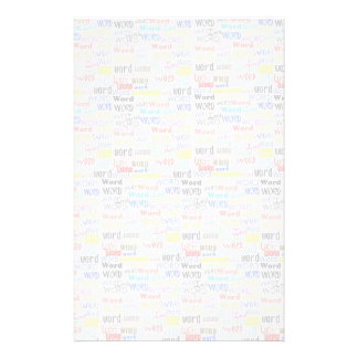 A Thousand Words - 1000 Words Background Stationery