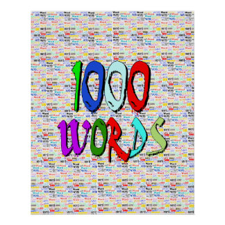 A Thousand Words - 1000 Words Poster