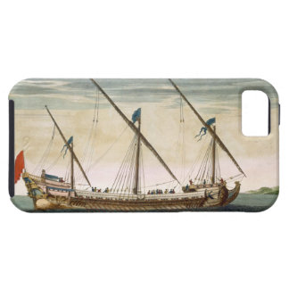 A three-masted Galleass under way by oar, from 'Le iPhone SE/5/5s Case
