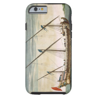 A three-masted Galleass under way by oar, from 'Le Tough iPhone 6 Case