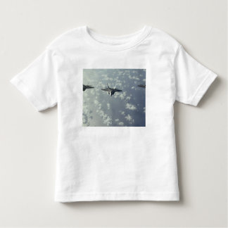 A three-ship formation of F-22 Raptors Toddler T-shirt