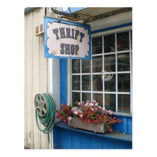 A thrift shop in Moorpark, CA Postcard