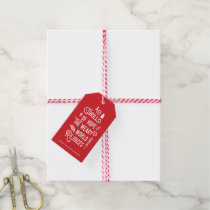A Thrill of Hope | Red Gift Tags